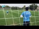 Видео дня на «Зенит-ТВ» первый матч Халка на позиции вратаря.